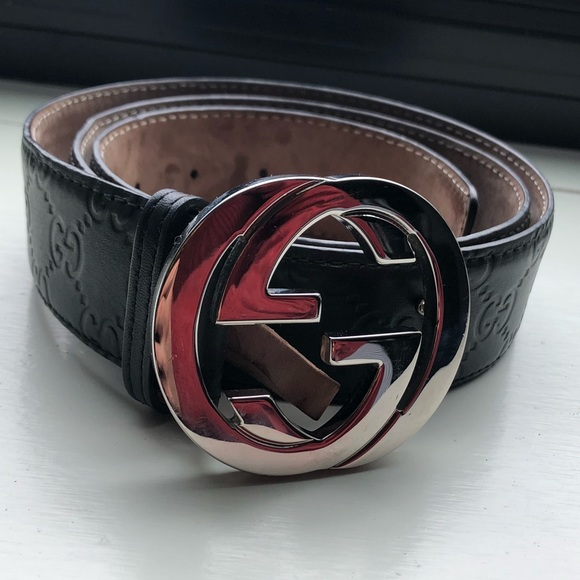 51ff3a78 AUTHENTIC MENS GUCCI BELT SIZE 95